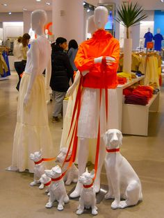 mannequins and their dogs at joe fresh, may 2012 by rosanne maccormick-keen, via Flickr
