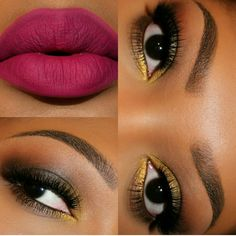 Makeup on point!
