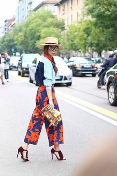 Threads Styling - Street Style - Proenza Schouler - Fendi RTW 2015 - Milan Fashion Week.