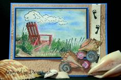 By The Sea using Stampin Up Along the Shore