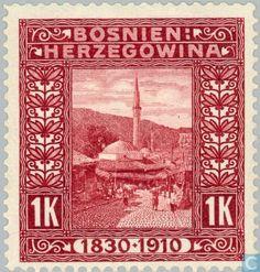 Stamps - Austria-Hungary (Bosnia and Herzegovina) - Sarajevo