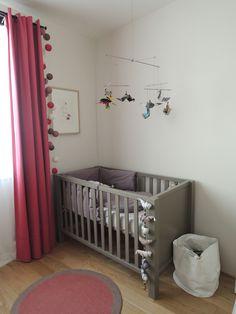La chambre bébé d'Alma Chambre Bébé décoration Nursery garçon fille baby bedroom boys girls enfant diy home made fait maison
