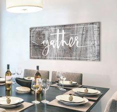 Dining Room Wall Decor, Kitchen Wall Art, Home Decor Kitchen, Wall Art Decor, Kitchen Ideas, Diy Kitchen, Kitchen Inspiration, Country Kitchen, Bedroom Decor