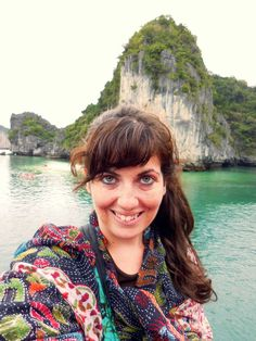 The only time during my trip in Southeast Asia I was cold was in Halong Bay!