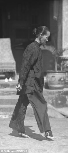 Chinese women with the smallest feet were given the greatest chance of living a life of luxury and wealth but the process and results were agonising and dangerous.