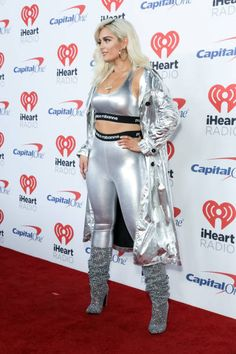 Singer Bebe Rexha arrives at the 2017 iHeartRadio Music Festival at TMobile Arena on September 22 2017 in Las Vegas Nevada