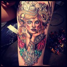 Tattoo by Kat Abdy