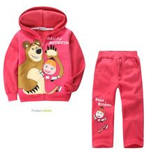 Hot Sale pink baby gilr clothing suit childhood christmas gift for baby clothing outfits 2015 new toddler set(China (Mainland))