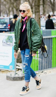 50 Outfit Ideas to Look More Stylish in 2016 via @WhoWhatWear