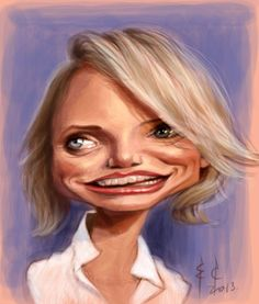 Cameron Diaz by StudioCandia on DeviantArt