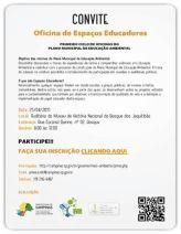Oficina sobre espaços educadores, 25 de abril de 2015
