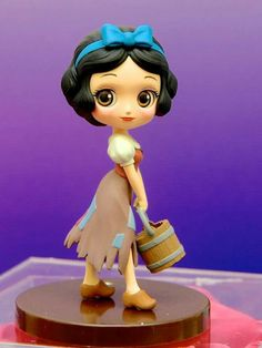 Banpresto Q Posket Disney Characters Petit Figure Vol 8 Princess Snow White Disney Princess Dolls, Princess Art, Disney Dolls, Princess Cakes, Snow White Doll, 3d Art, Polymer Clay Figures, Disney Figurines, Disney Cakes