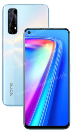 Realme 7 mobile phone - price and specification Mobile Phone Price, Used Mobile Phones, Mobile Shop, New Mobile, Stereo Speakers, Dual Sim, Android Apps, Quad