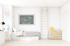 Enjoy the Journey Nursery Wall Decor, Wall Art Nautical Baby Shower, Adventure Decor, Travel Nursery Nursery Wall Decor, Wall Art Decor, Baby Nursery Neutral, Wall Décor, Living Room, Gender Neutral, Bed, Modern, Whimsical