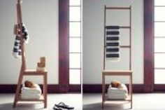 Meuble on pinterest towel racks ikea and prince - Valet porte vetement ikea ...