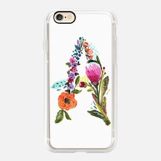 Casetify iPhone 7 Case and Other iPhone Covers - YOUR INITIAL by BARI J. | #Casetify
