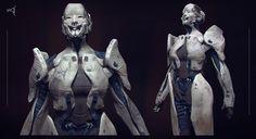 ArtStation - Officer Kuuwga Lun Concept, Milan Nikolic