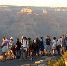 Grand Canyon National Park South Rim Hopi Point Sunset