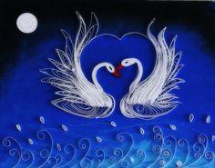 midnight love swans