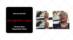 How to Use the Acapella App Step By Step *Requested Video*
