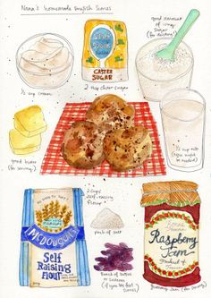 Nana's Homemade English Scones - Dawn Tan