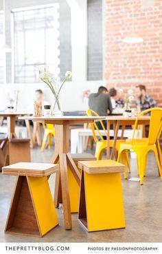 We Visit Trendy Superette | {Coffee Shops} | The Pretty Blog