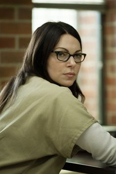 "Laura Prepon will be on 4 episodes of the second season of ""Orange Is The New Black""' - my heart flutters! Those eyebrows, those cheekbones..."