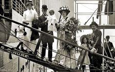 Clara Butt on SS Mongolia, 1907