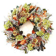 Linville Wreath, $90; frontgate.com   - ELLEDecor.com