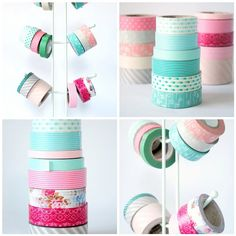 Washi Tape in my favorite colours!