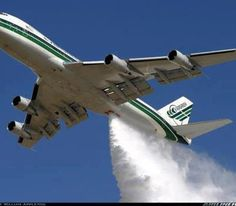 Evergreen Air as CIA front company for chemtrail ops?