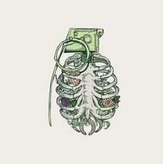 The Bone by huebucket , via Behance