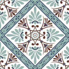 Adesivo para Azulejo Português Decorativo 16 peças