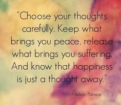 quote toughts peace happiness