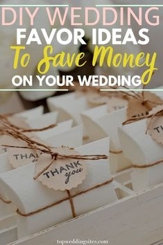 Weddings can become costly as wedding florals, reception, food, favors and other things all add up! If you would like to save money on your wedding, here are DIY wedding favors you can make by yourself. Check out these adorable wedding DIY ideas now. Diy Wedding Favors, Wedding Blog, Wedding Gifts, Wedding Ideas, Honeymoon Tips, Honeymoon Destinations, Chalkboard Decor, Reception Food, Floral Wedding