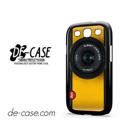 Lemon Yellow Leica Camera DEAL-6420 Samsung Phonecase Cover For Samsung Galaxy S3 / S3 Mini