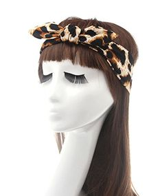Skyluna® Fashion Rabbit ear Headscarf Headbands For Women Hair Accessories (Leopard) >>> Find out more about the great product at the image link. (This is an affiliate link and I receive a commission for the sales)