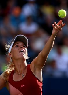 Caroline Wozniacki plays in her second US Open final, against top seed and good friend Serena Williams.