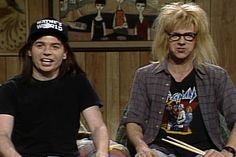 'SNL's' 40 Most Iconic Characters: From the Blues Brothers to Stefon Comedy Show, Comedy Movies, Films, Waynes World Excellent, Snl Characters, Opera Show, Snl Skits, Emission Tv, Film