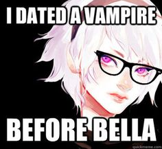 """""""I dated a vampire before Bella."""" So True Rose <-- Edward isn't a vampire. He's a douche bag."""