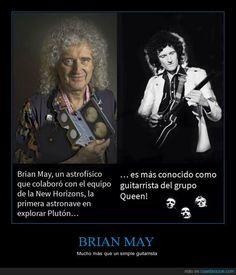 BRIAN MAY - Mucho más que un simple guitarrista