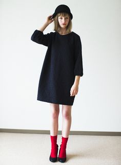 New Dress Black Simple Clothes Ideas Look Fashion, Daily Fashion, Fashion Beauty, Girl Fashion, Womens Fashion, Fashion Design, Fashion Trends, Looks Style, Trendy Dresses