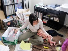 Etsy Tips: Working At Home with Kids AKA Juggling Kids and Etsy