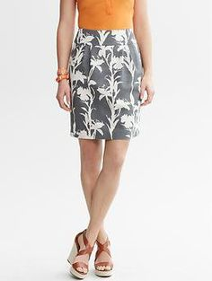 #Gap                      #Skirt                    #Heritage #floral #skirt #Banana #Republic          Heritage floral skirt | Banana Republic                                       http://www.seapai.com/product.aspx?PID=1066645