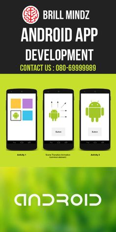 We are specialized in Android Application, window mobile application development etc.