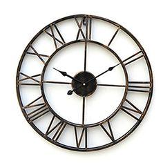 [CyberWeekSale]20 Country Style Metal Wall Clock - USD $ 39.99