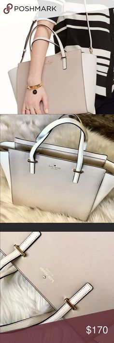 "Kate spade CEDAR st tote 10""Length 11""height 5""d        Used for a month.  Only item NOT included in 50% off sale kate spade Bags Totes"
