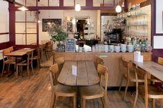 Auch ein Café kann Heimat sein … La Couronne d'Or, Lausanne (Bild: Schweizer Heimatschutz) Lausanne, Switzerland, Table, Furniture, Home Decor, Cafes, Crowns, Places, Swiss Guard
