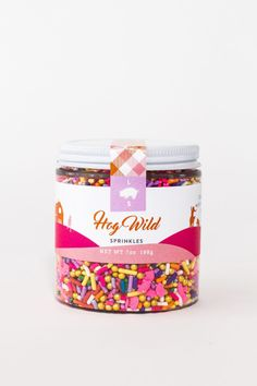 """Hog Wild"" sprinkles from A Food-Inspired Life, Libbie Summers"