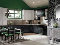 Different look for kitchen - a little vintage wouldn't you say?